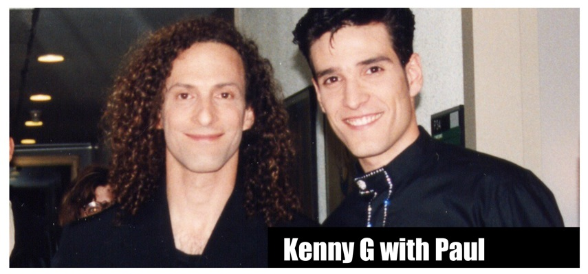 Kenny G and Paul Ponce