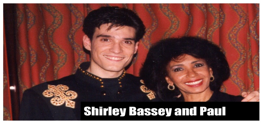 Shirley Bassey and Paul Ponce